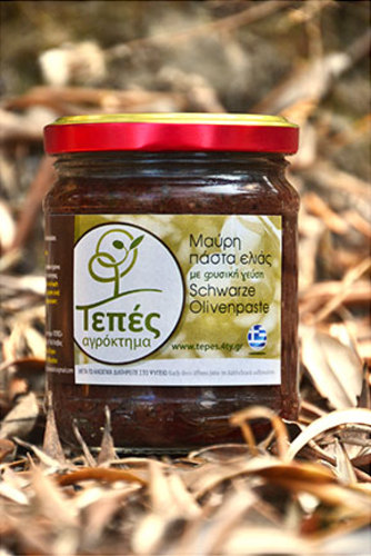 Olive black paste TEPES, Lesvos